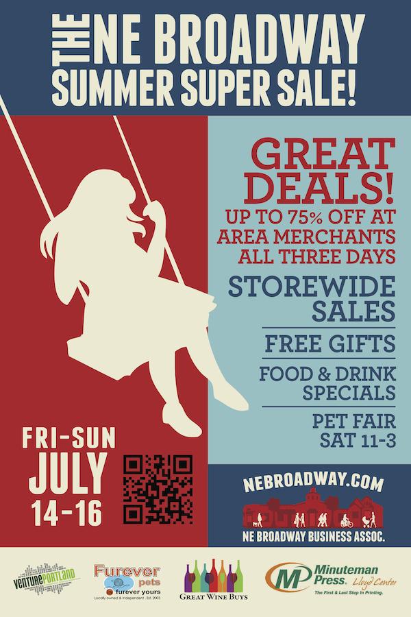 The NE Broadway Summer Super Sale